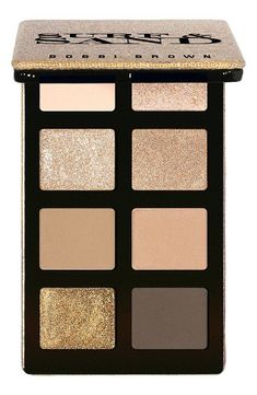 bobbi brown Surf & Sand Eye Shadow Palette in Sand is a mix of gorgeous neutral shades. #makeupproducts