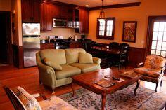 A living room in a Chaumette villa