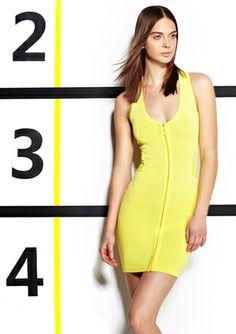 On ideeli: WOW COUTURE V-Neck Zip-Front Bandage Dress