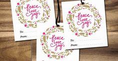 Maiko Nagao: FREE: Printable Christmas gift tags by Maiko Nagao