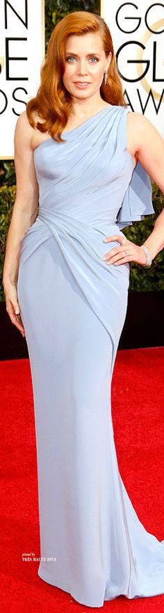 Amy Adams in Versace - Golden Globes 2015 ♔THD♔