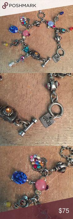 Otazu Swarovski Crystal bracelet.  charms Otazu Swarovski Crystal bracelet.  charms 🌸 Otazu Jewelry Bracelets