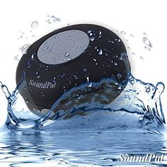 Bluetooth Shower Speaker - SoundPal Water Resistant Wireless and Hands-free Speaker Phone with Suction Cup - Compatible with All - https://plus.google.com/+GoldfrogvancouverInc/posts/Hqx1aV1dPKs