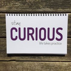 Stay Curious Journal