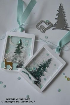 Stampin' Up! Christmas project4 - Like a Christmas song - Carols of Christmas, Card Front Builder Thinlits, Celebration Thinlits MyStilmix
