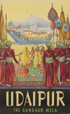 Udaipur • The Gangaur Mela ~ Dorothy Newsome