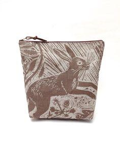 Mark Hearld Harvest Hare Project Bag by didyoumakeityourself