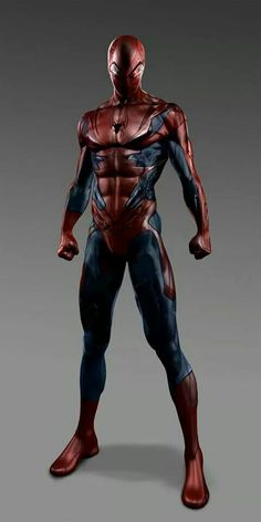 Spiderman redesign by Filmpaint