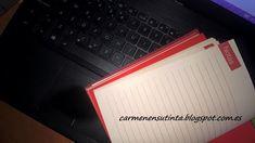 Carmen en su tinta: Escribir las primeras frases