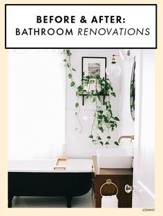 These bathroom renovation before and afters are truly transformative.