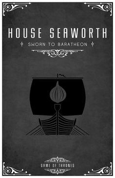 Game of Thrones. House Seaworth: Sworn to Baratheon