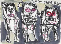 "Saatchi Art Artist Claus Bertermann; Painting, ""Triumvirate 002"" #art"