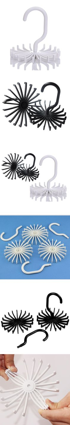 Hot Sale 1PC Creative Flexible 20 Hook Clost Clothing Accessory Hanging Necktie Belt Organizer For Men Women