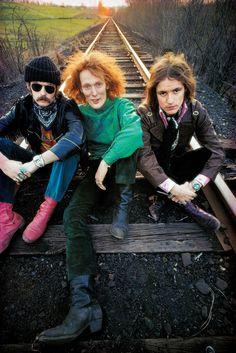 Fotografías de tus músicos favoritos en la mejor época del rock.
