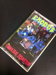 Fabulous Disaster - Exodus Cassette Tape
