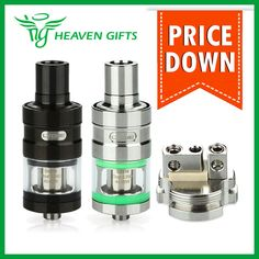 Original Eleaf LYCHE Atomizer with RBA Head Rebuildable Atomizer Tank Capacity Top Airflow Adjustable Side Filling Gift From Heaven, Electronic Cigarettes, The Originals, Gifts, Stuff To Buy, Tanks, Top, Vapor Cigarettes, Favors