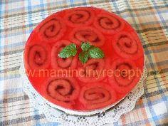 Roládový dort – Maminčiny recepty Watermelon, Pudding, Fruit, Desserts, Food, Tailgate Desserts, Deserts, Custard Pudding, Essen