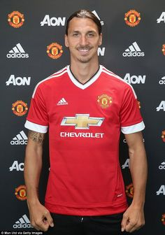 Zlatan Ibrahimovic is now officially a Manchester United player having already announced the move on Twitter