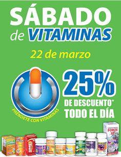 Farmacias Similares: Sábado de Vitaminas 25% de descuento Ofertassábadode vitaminas Farmacias Similares:Aprovecha esta increíble promoción que Farmacias Similares tiene para ti en esta navidad. Donde podrás obtener increíbles beneficios. En esta ocasión te trae su sábado de vitaminas, en donde... -> http://www.cuponofertas.com.mx/oferta/farmacias-similares-sabado-de-vitaminas-25-de-descuento/