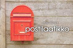 postilaatikko ~ mailbox