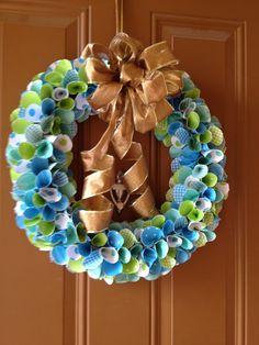 Homemade Spring Wreath!