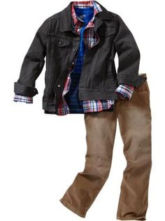 Boys Clothes: Jean Outfits | Old Navy