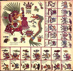 --Page 14--   Codex Borbonicus (Loubat 1899)