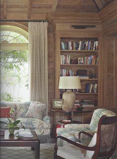 Sheerer Room-wood paneling