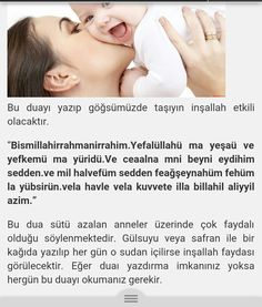 Anne sütünü arttıran dua