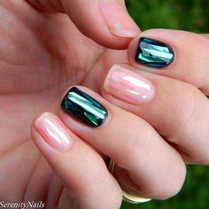 Regram from @biosculptureaus These beautiful shattered glass effect nails by @serenity.nail.spa #biosculpturegel #biosculpture #nails #biogel #gelnails #nailart #vegan #healthy #gel #nail #biosculptureau