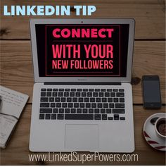 The idea here is to frequently monitor your LinkedIn Notifications to identify your latest followers. These are individuals who are interested in what you have to say and wish to keep you on their radar for the future. What you can do is visit their LinkedIn Profiles and if you determine there could be potential synergies, send them a unique & relevant customized invitation to connect. For numerous LinkedIn Tips & Strategies, visit our Blog at: https://linkedsuperpowers.com/blog #LinkedIn…