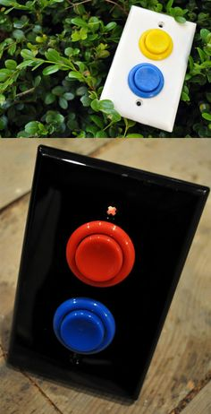 Classic arcade light switch