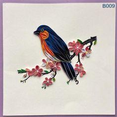 Bird and Flower Cards/B003 B004 B009 B012 B013