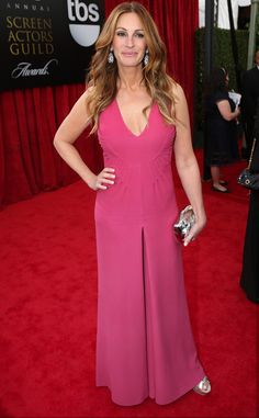 Julia Roberts from 2014 SAG Awards: Red Carpet Arrivals | Valentino | Eiseman Style | Red Carpet
