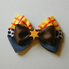 Hey, I found this really awesome Etsy listing at https://www.etsy.com/listing/184530418/woody-toy-story-inspired-bow
