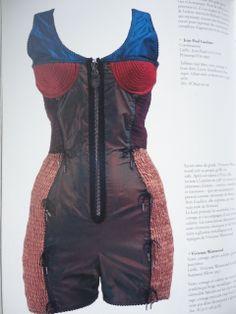 1990 - Jean Paul Gaultier bodysuiy b7bbc7cd255e4