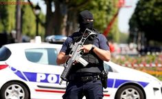 Car rams police vehicle in Paris; driver likely killed