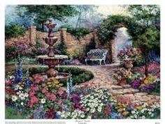 Barbara Mock: Jardín tranquilo