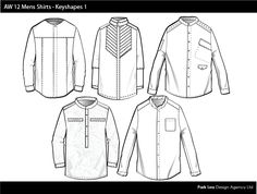 AW 12 Mens Shirts Key Shapes.jpg 756×572 píxeles