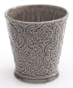 Loving this Gray Florence Pot on #zulily! #zulilyfinds