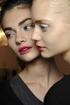{ Christian Dior Fall 2013 – Silver eyes & Berry Lips }