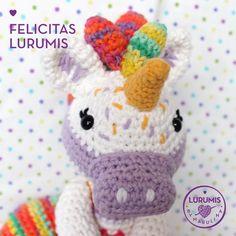Unicornio Felicitas Lurumis - Comprar en Lurumis
