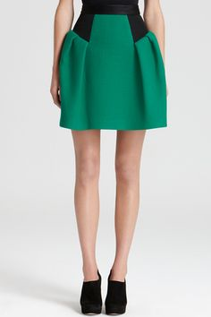 13 Full Skirts To Get Flirty With This Spring #Refinery29 (Milly)