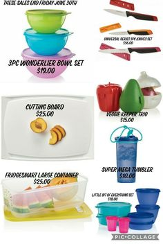 I am $100 away from goal... and need to reach this by Friday!! If anyone is able to help me reach this... even if it is sharing specials to your friends and family or allowing me to make a post or 2... Pictured below are items that are expiring this Friday!! Shop-  www.my.tupperware.com/sherylfreeman