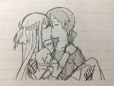 True on - Art ideas Kirito Drawing, Manga Drawing, Drawing Sketches, My Drawings, Kirito Sword, Sword Art Online Kirito, Sao Anime, Sword Art Online Wallpaper, Chibi