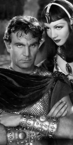Cleopatra e Marco Antonio (Claudette Colbert e Henry Wilcoxon) #assaggiditeatro