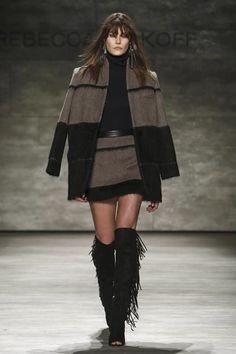 LSC|Style- Over the knee fringe boots- Rebecca Minkoff, RTW Fall ...