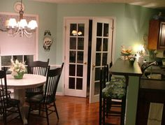 Would love French doors from the kitchen onto the deck.