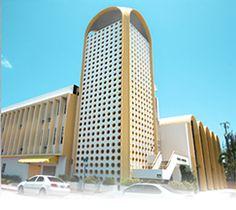 MiMo Architecture  - 620 75th St. Temple Menorah, North Shore National Register District (Miami Beach, Florida)