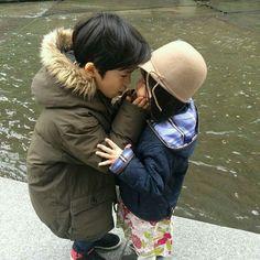 kaza nemli bi eydir can kayb yoksa Cute Asian Babies, Korean Babies, Asian Kids, Cute Babies, Twin Babies, Little Babies, Little Ones, Baby Kids, Baby Boy